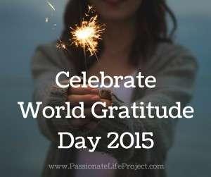 World Gratitude Day 2015