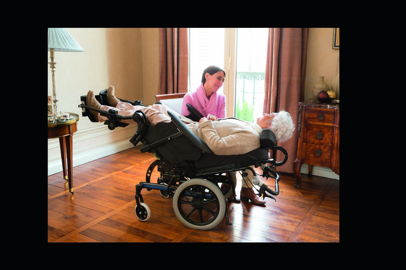 Power tilt recline and power elevating legs How they
