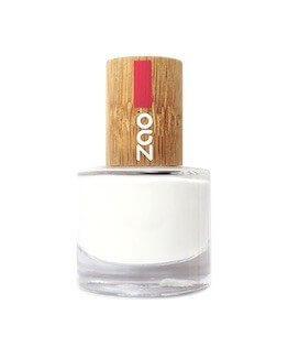 French Manucure blanc ZAO 641