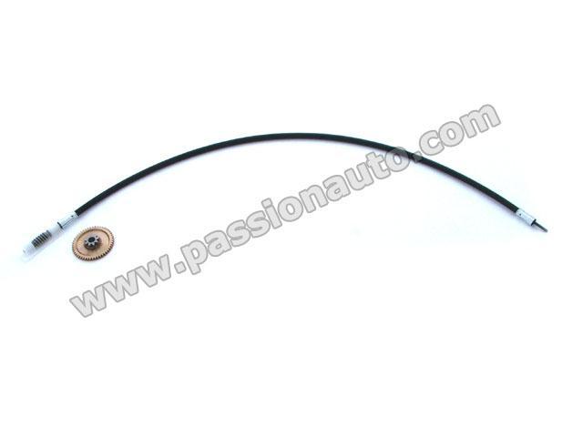 Cable Gauche sur moteur capote electrique # 993 1994-1995