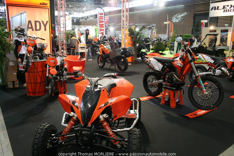 KTM au salon Moto de Lyon 2010