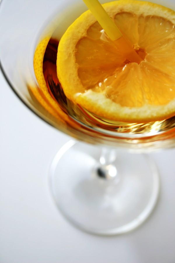 Passion barre photo of Sliced lemon in glass
