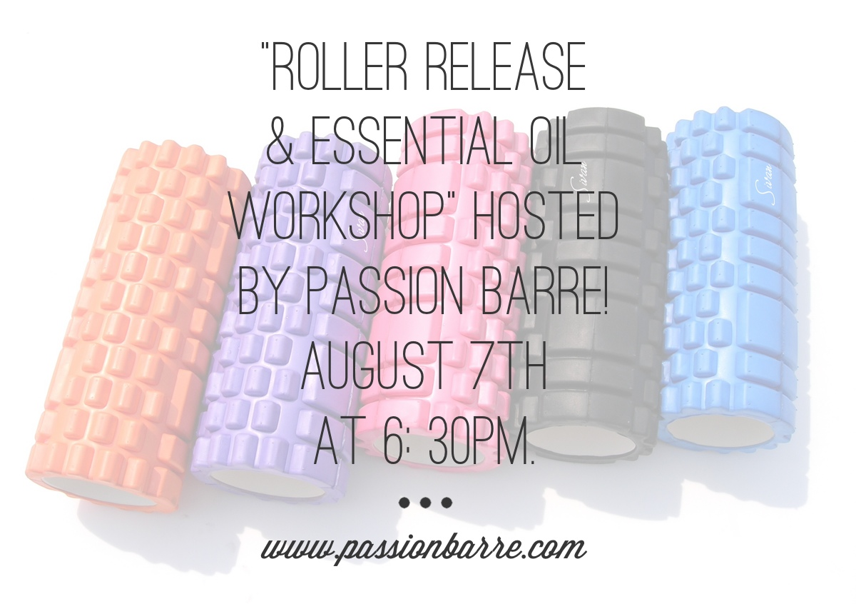 Passion Barre Roll & Release Workshop Info