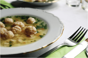 Bone Broth Image from Passion Barre Blog, courtesy Alicia Streger