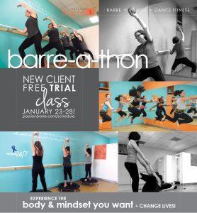 Passion Barre-a-thon 2017 Graphic