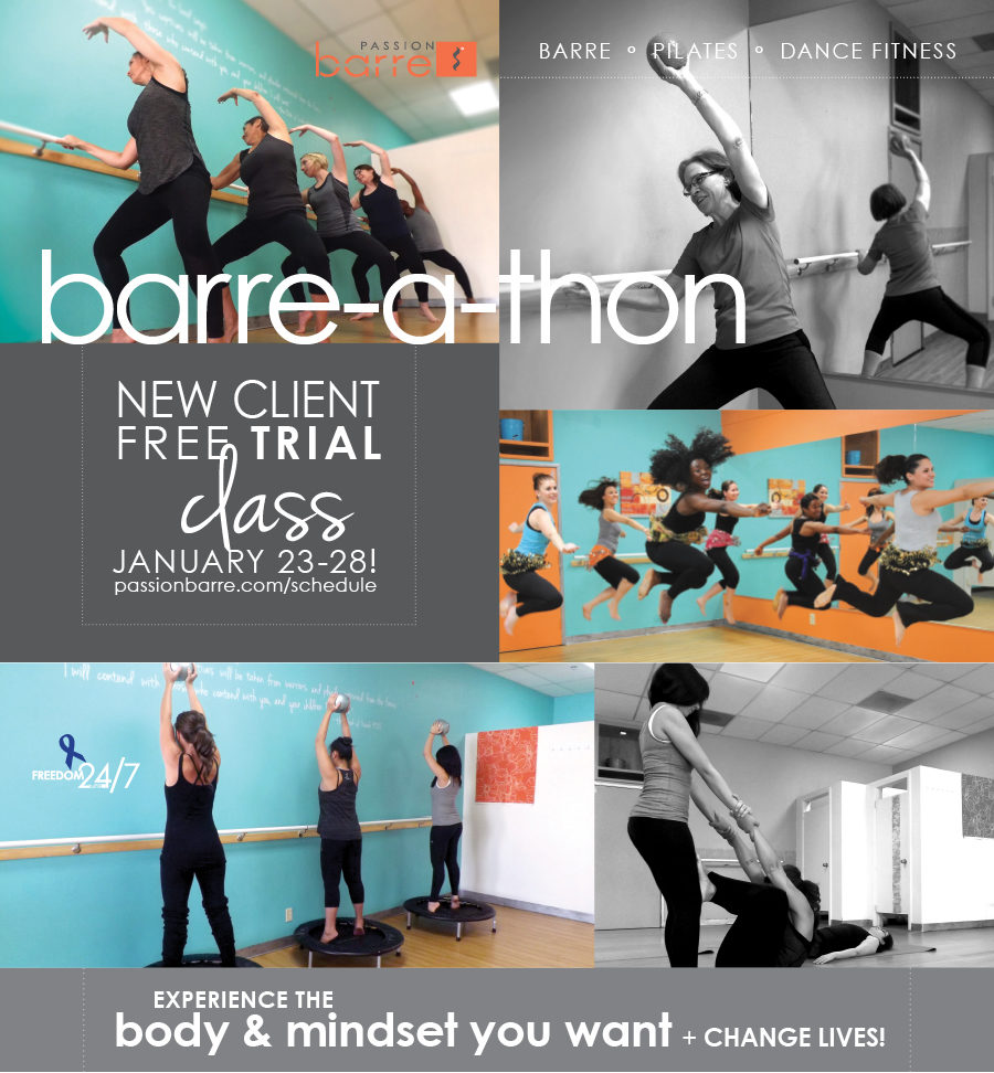 Passion Barre-a-thon 2017 Graphic