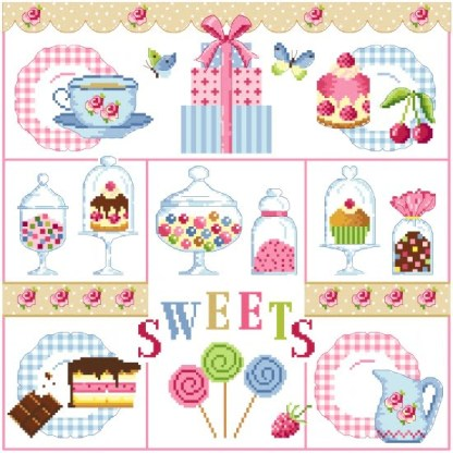 Sweets - Passion Bonheur - point de croix - point compté - fiche point de croix - fiche point compté - fiches de point de croix - fiches de point compté - grille point de croix - grille point compté - grilles point de croix - grilles point compté - diagramme point de croix - diagramme point compté - diagrammes point de croix - diagrammes point compté - broderie point de croix - broderie point compté - broderies point de croix - broderies point compté - création fiche point de croix - création fiche point compté - création grille point de croix - création grille point compté - créatrice fiche point de croix - créatrice fiche point compté - cross stitch - cross stitch pattern - cross stitch design - cross stitch chart - needle work - embroidery - embroideries