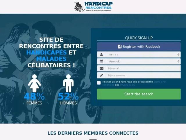Handicap-Rencontres - Test, Avis et Critique