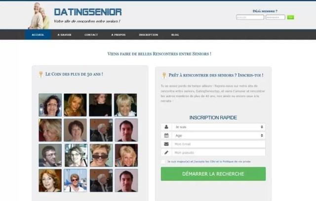 Datingsenior - Test, Avis et Critique
