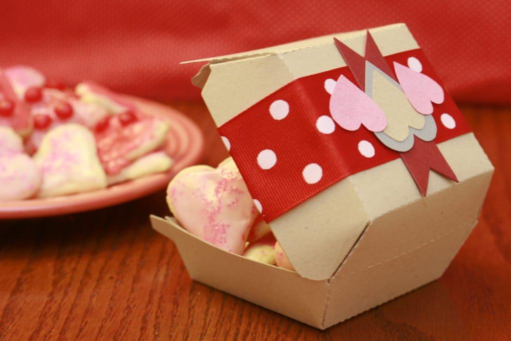 Scatola Porta Biscotti Fai da Te  Love DIY