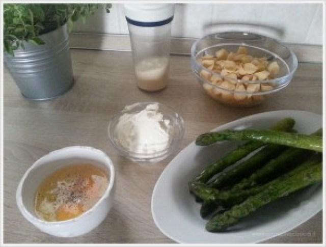 pasticcio di asparagi - ingredienti