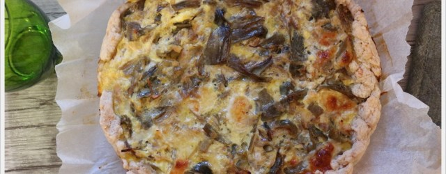ricetta torta ai carciofi