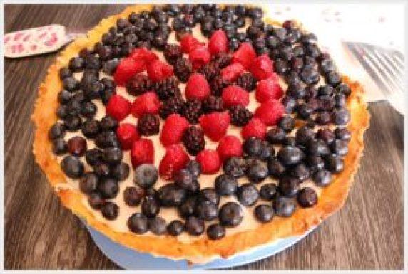 ricetta torta fresca ai frutti di bosco