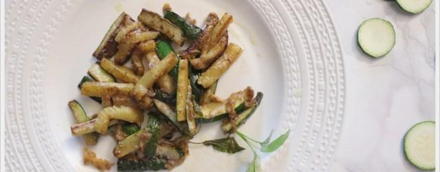 ricetta zucchine al parmigiano