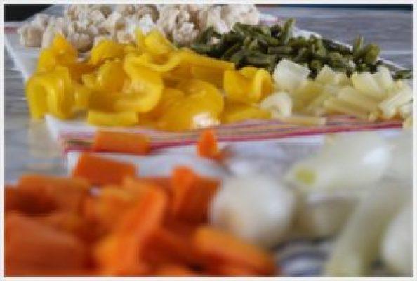 ricetta conserve di verdure lessate
