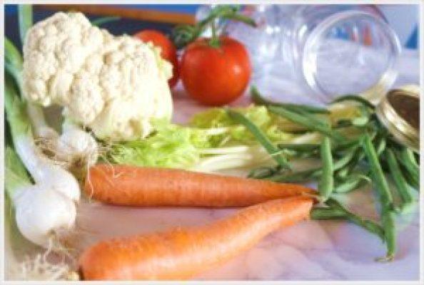 ricetta conserve di verdure preparazione