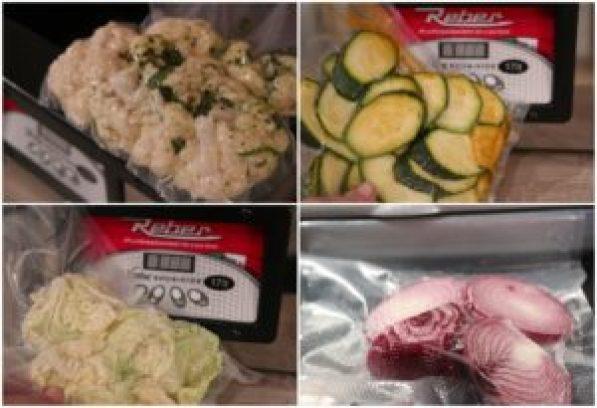 cottura bassa temperatura verdure