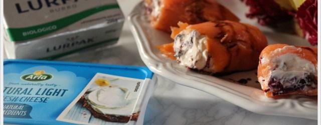 ricetta finto sushi al salmone