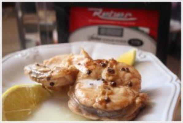 ricetta rana pescatrice con emulsione