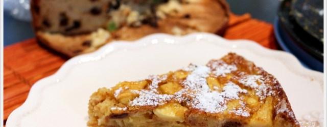 ricetta torta di panettone alle mele