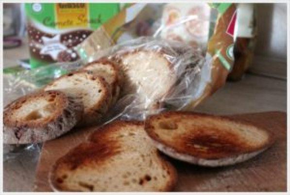 ricetta crostone cicoria e salsiccia pane senza glutine