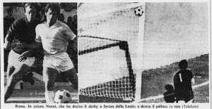 File: [Derby72stampa.jpg] | Fri, 02 Dec 2016 18:18:07 GMT LazioWiki: progetto enciclopedico sulla S.S. Lazio www.laziowiki.org