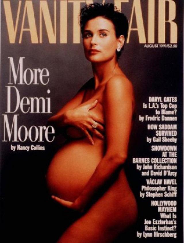 demi-moore-incinta-per-vanity-fair