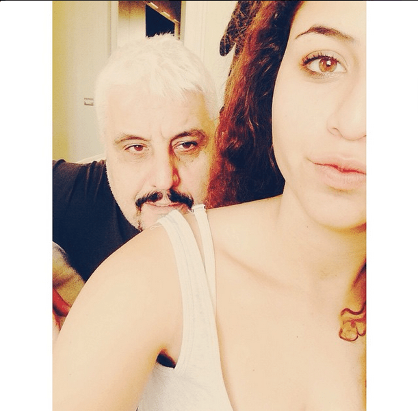 Pino e Sara Daniele su Instagram