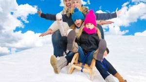 foto_vacanza sulla neve in famiglia