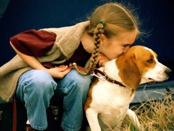 foto_cane e bambino