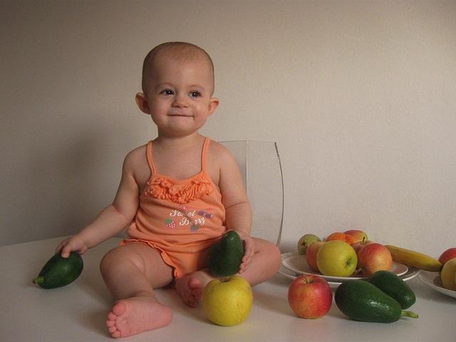 frutta svezzamento