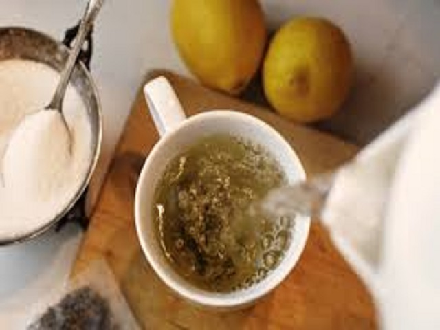 bere tè verde