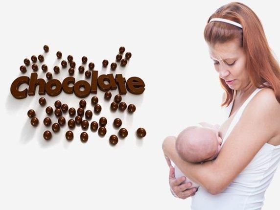 cioccolato in allattamento