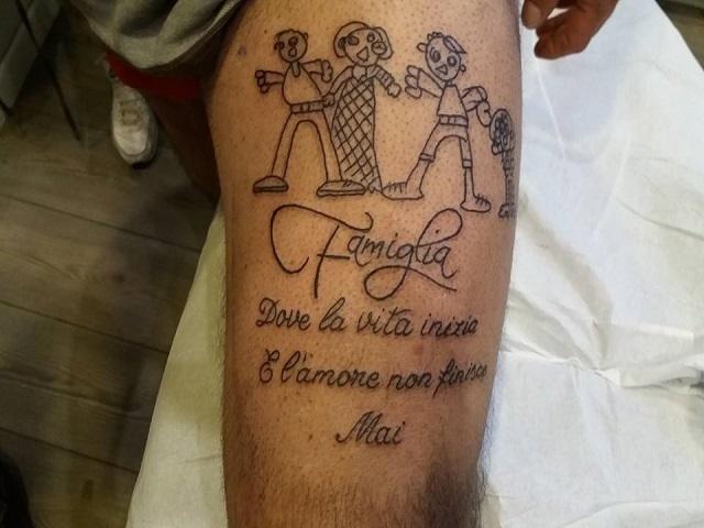 foto_tatuaggio famiglia_disegno figli