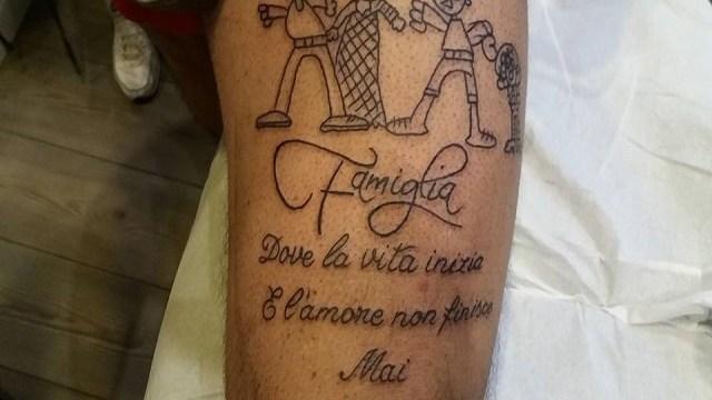 5 idee per tatuaggi ispirati alla famiglia passione mamma for Idee tatuaggi nomi figli