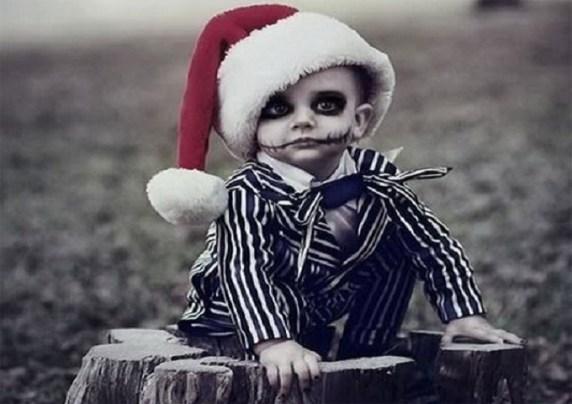 foto trucco halloween bambini zombie