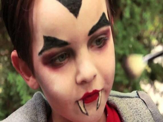 foto trucco vampiro dracula halloween