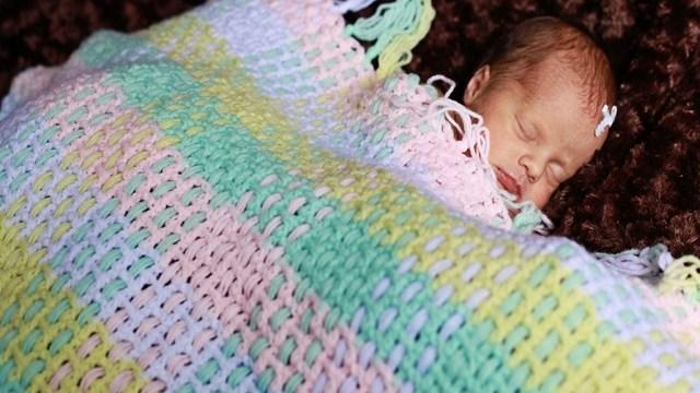 Copertina Uncinetto Per Neonati Passione Mamma
