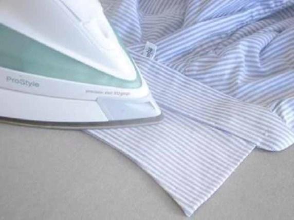 come stirare una camicia