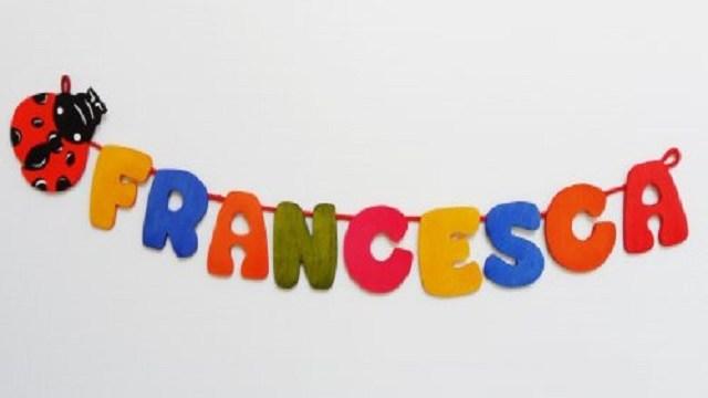Francesca Origine Curiosità E Significato Del Nome Passione Mamma