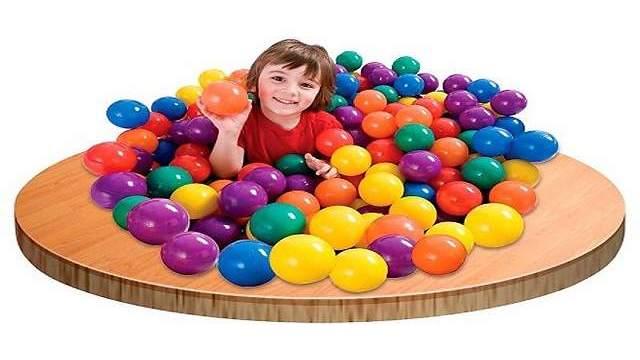 foto giochi con le palline