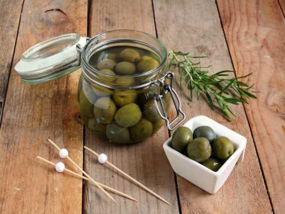 olive in salamoia in gravidanza