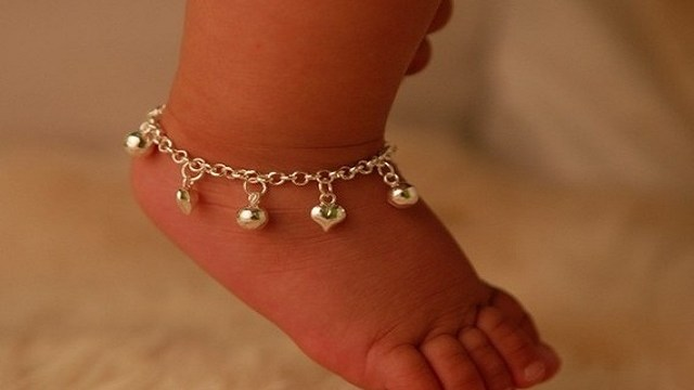 baby anklets