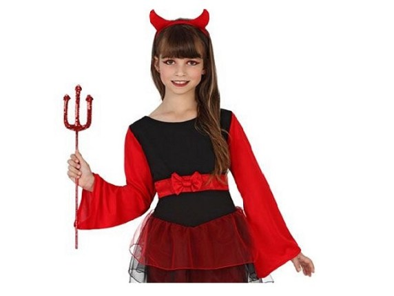 Trucco da diavoletta per Halloween 835d81b245a