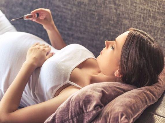 febbre alta donna incinta