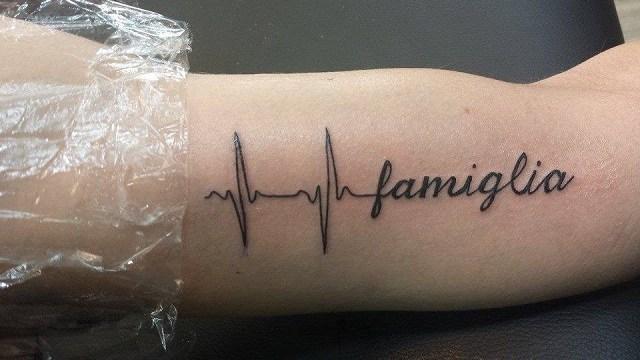 Tatuaggio Dedicato Alla Famiglia Passione Mamma