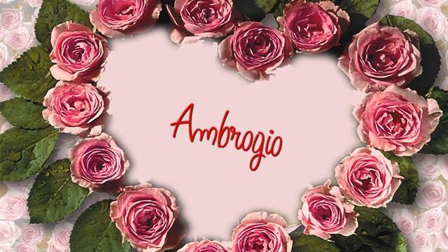 Ambrogio nome significato, Santo e onomastico