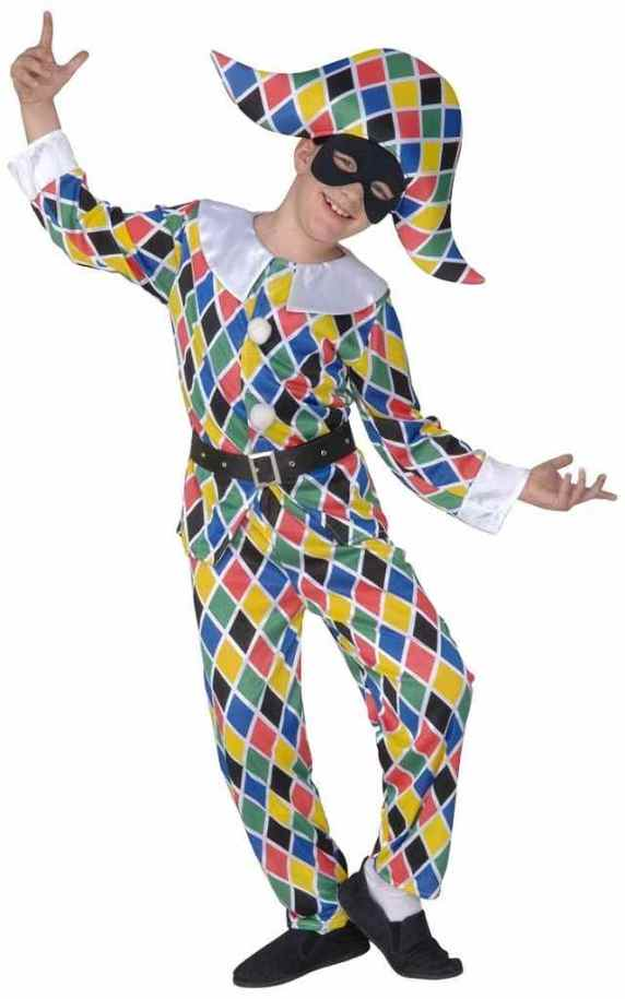 arlecchino costume
