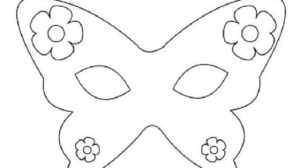 maschera fiori