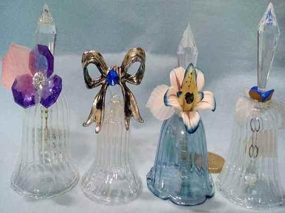 campanelline di vetro